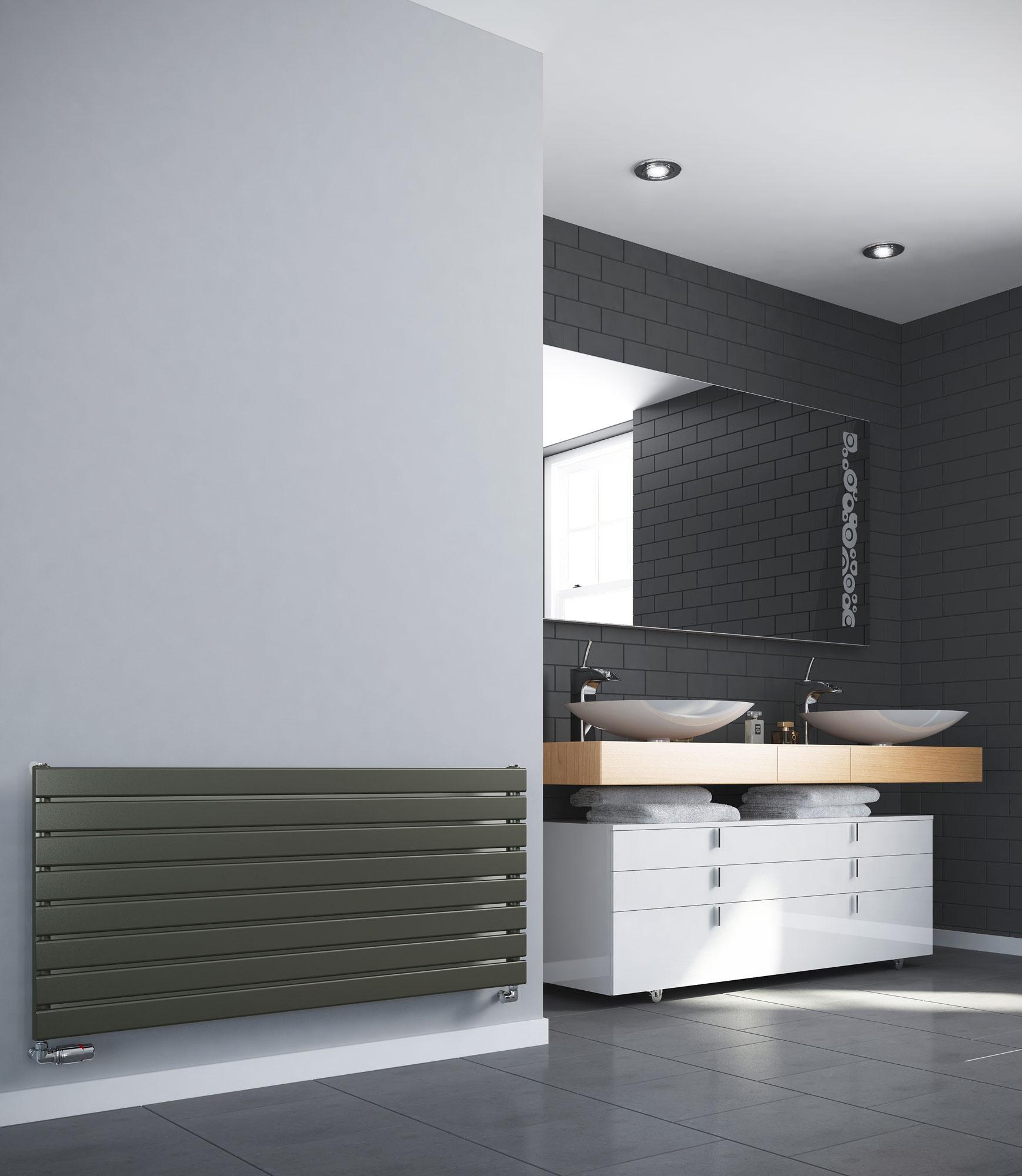 Novus Single Panel Designer Radiator - Sidato